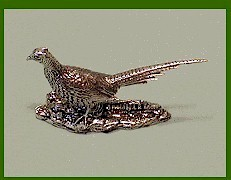 pheasant sculpture