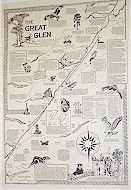 The Great Glen map