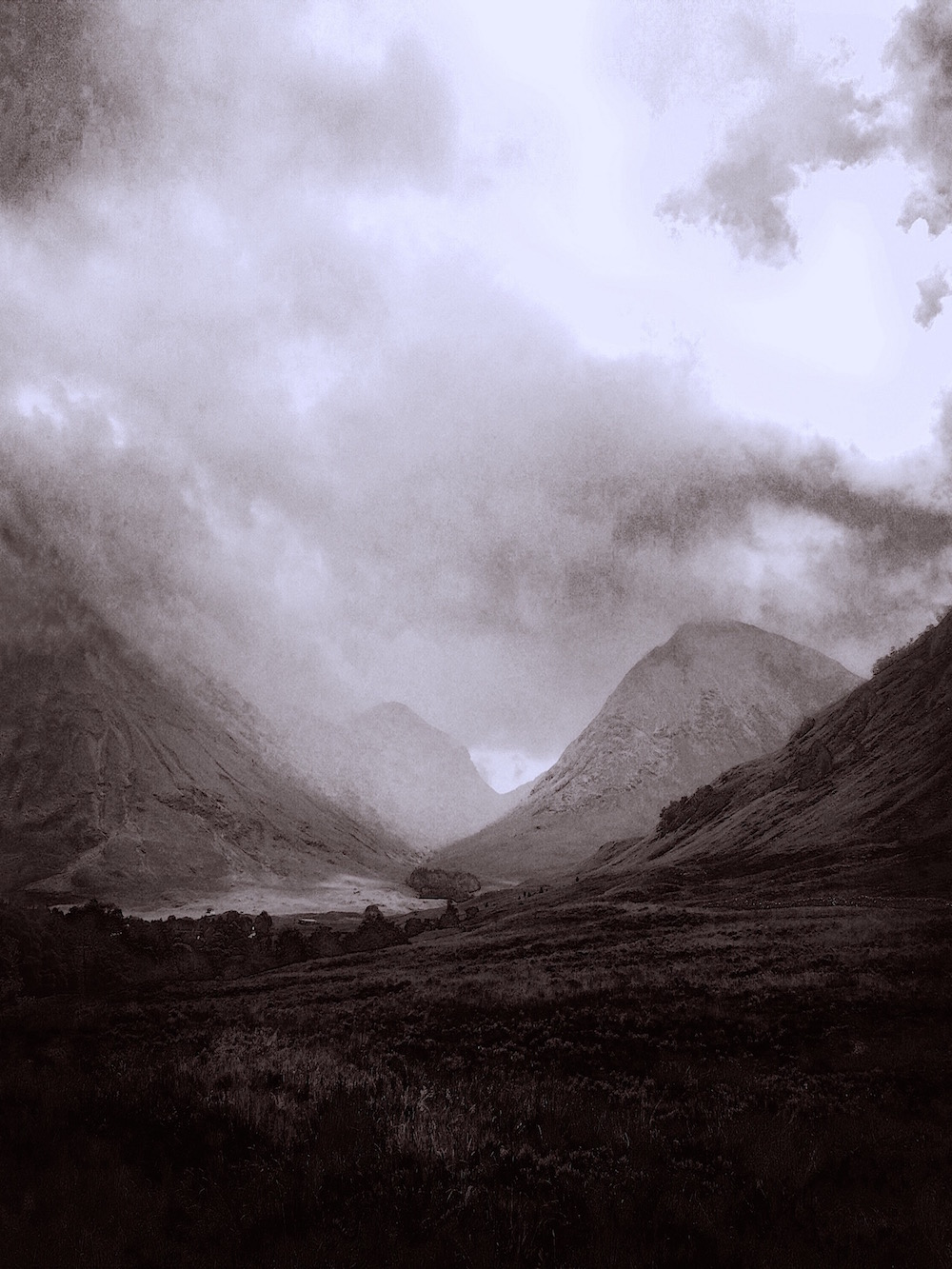 Glen Coe Mist by Kevin Hunter