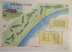 Machrihanish Golf course print