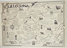 Mull and Iona  map